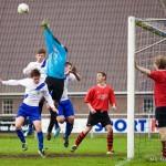 Derby, FC Fochteloo thuis tegen SV Donkerbroek.